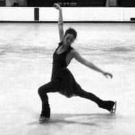 Figure skater girl